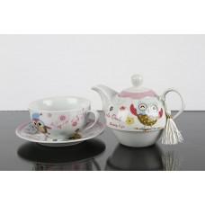 Set cadou ceai cu bufnite