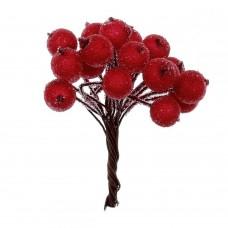 20 Bobite rosii glazurate