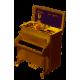 Decoratiune pianina muzicala