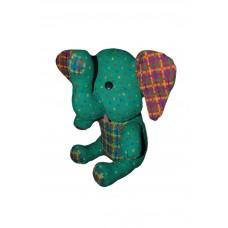 Elefant din stofa turcoaz